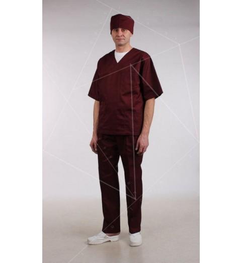 фото Медицинские брюки мужские М11