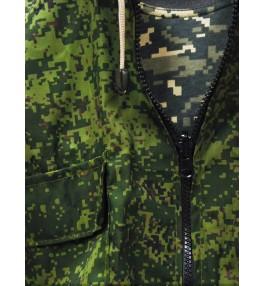 Костюм маскировочный летний (цвет тёмно-зеленый пиксель)