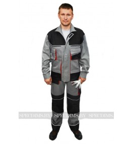 Костюм рабочий модель 56 (куртка + полукомбинезон)