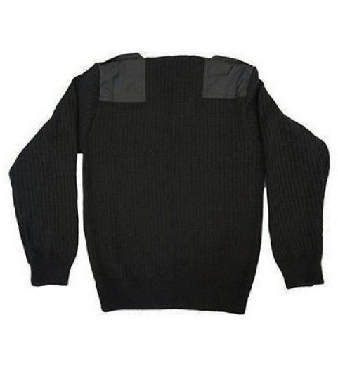 фото Джемпер форменный (черный)