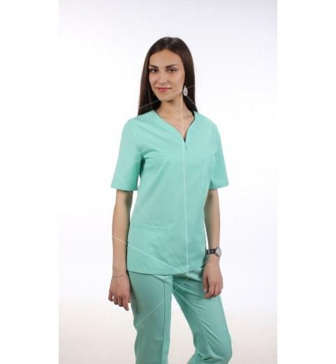 фото Блуза медицинская М99 мята