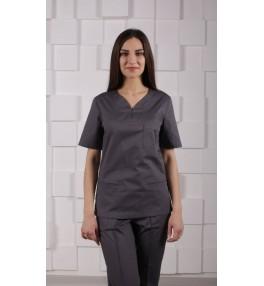 Блуза медицинская М99 серый