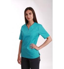 Блуза медицинская М99 бирюза