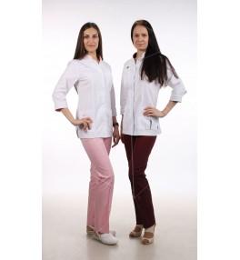 Брюки М11 женские медицинские (цвет розовый)